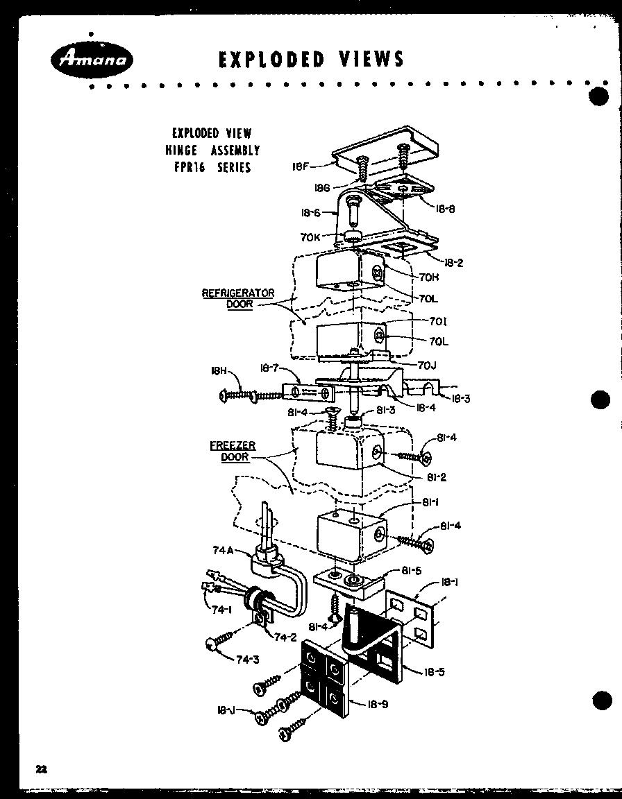 Refrigerator Parts Ge Refrigerator Parts Schematic