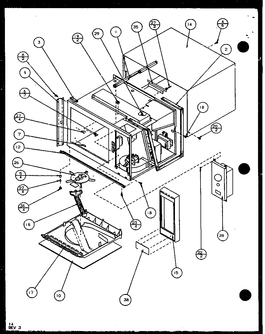 Amana Commercial Microwave Parts Manual