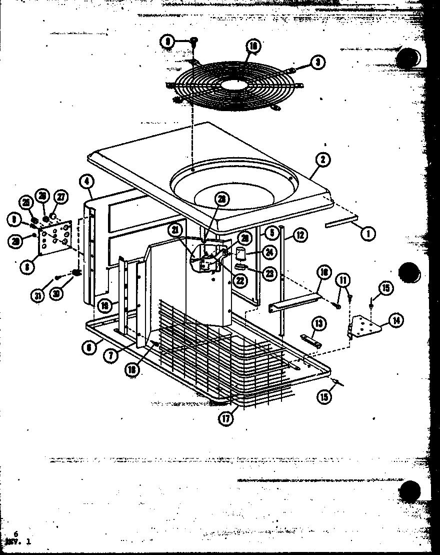 AMANA Hi Efficency Condensing Units (ercf18-u01a/p67471-1c