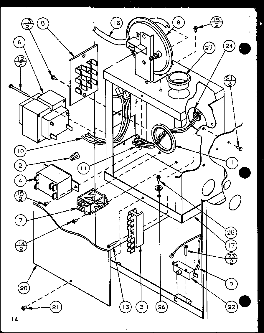 hight resolution of looking for amana model ghi140a50c p6983136f furnace repair amana furnace schematics amana furnace schematics