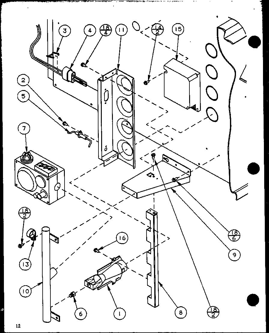 medium resolution of  amana gsi gas furnace parts model gsi70a30 p6983311f sears on bobcat 743 manual ebook