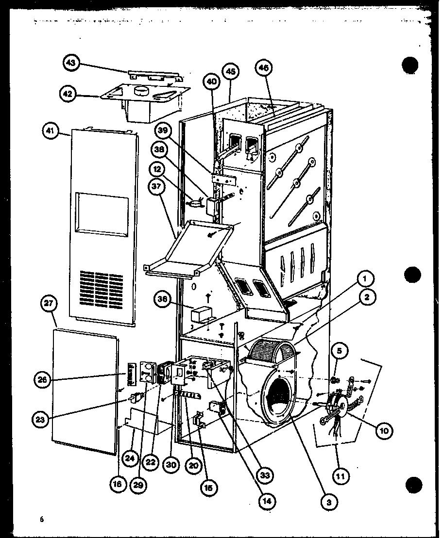 AMANA Ghe Series Gas Furnace (ghe502/p9806210f) (ghe50