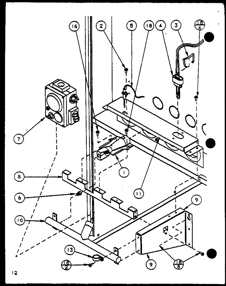 AMANA Gui Gas Furnace (gui045b25a/p9898101f) (g Parts