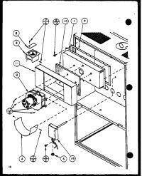 AMANA Gui Gas Furnace (gui045b25a/p9898101f) (g ... Parts ...