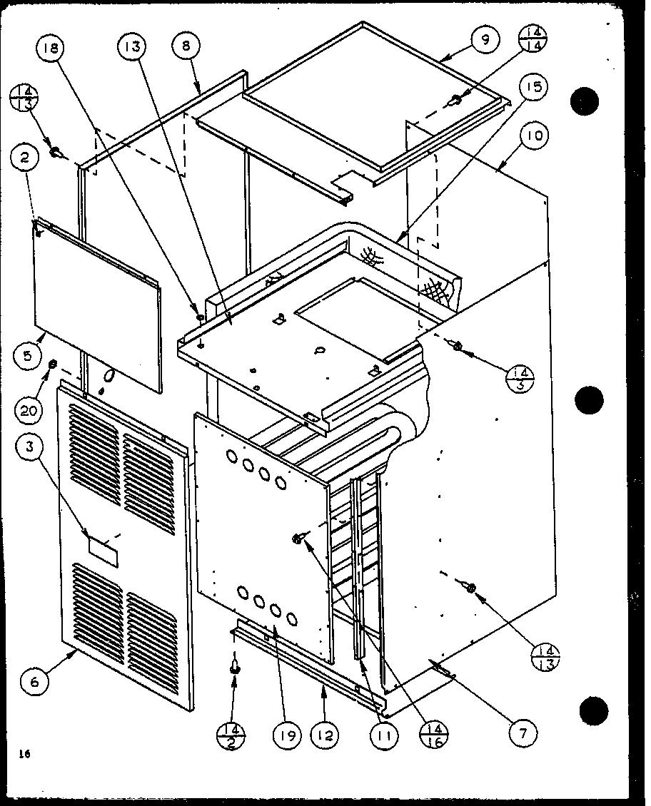 AMANA Gci Gas Furnace (gci045c25a/p9898209f) (g Parts