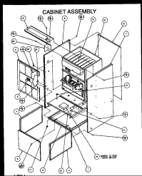 AMANA GUC GAS FURNACE Parts | Model GUC070C40CP1114309F ...