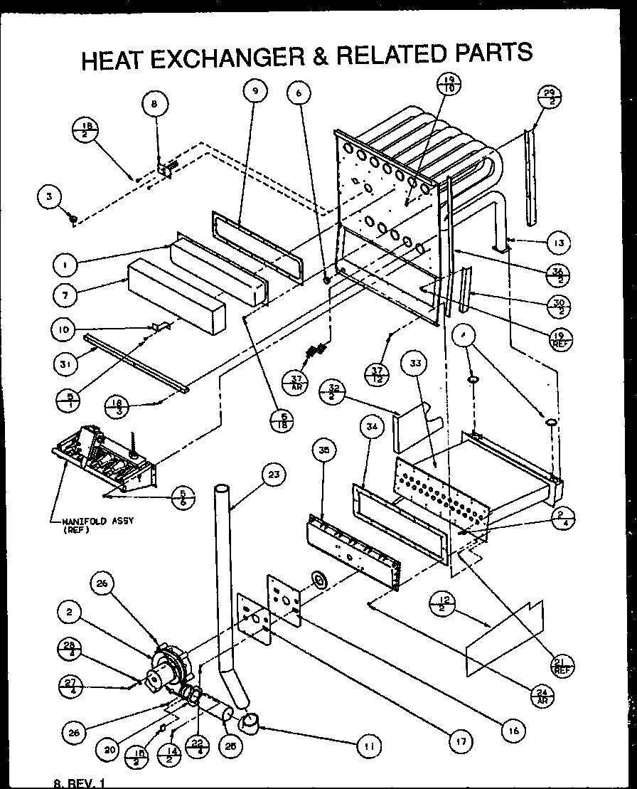 looking for amana model guc045c30c p1114307f furnace repair amana furnace parts canada amana furnace schematics [ 896 x 1109 Pixel ]