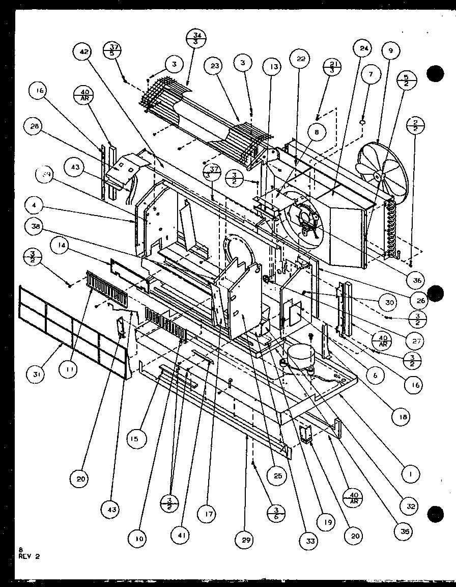 [WRG-7045] Amana Window Wiring Diagram