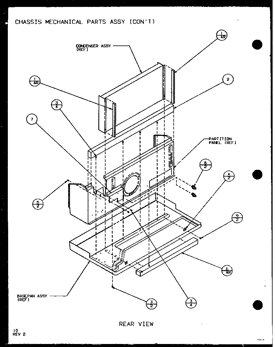 Control Assembly Diagram And Parts List For Amana Airconditionerheat