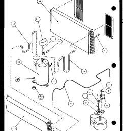 bottom control panel diagram and parts list for amana airconditioner amana hvac wiring diagrams [ 928 x 1152 Pixel ]