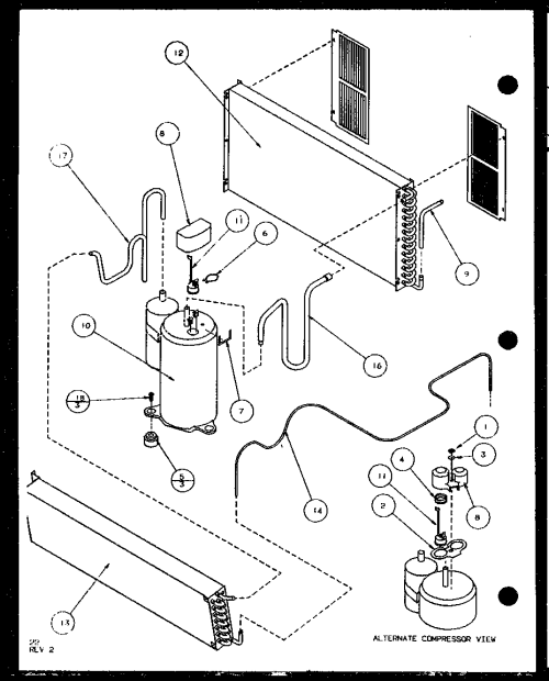small resolution of bottom control panel diagram and parts list for amana airconditioner amana hvac wiring diagrams