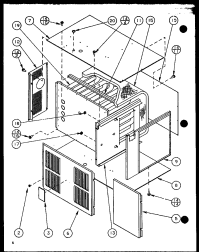 AMANA GSI GAS FURNACE Parts | Model GSI140B50BP1106708F ...