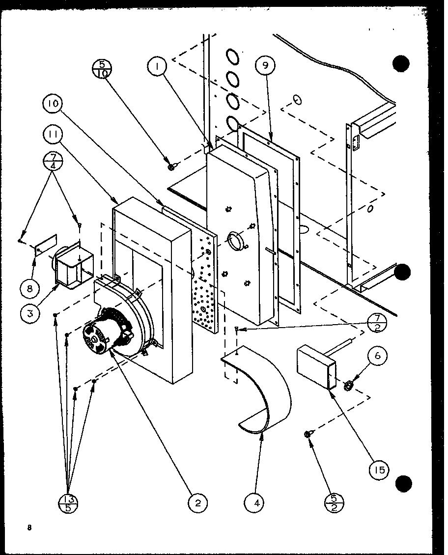 AMANA Gsi Gas Furnace (gsi045b25b/p1106701f) (g Parts