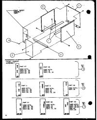 AMANA Guc Gas Furnace (ccu16/p1101801c) (ccu20/ ... Parts ...