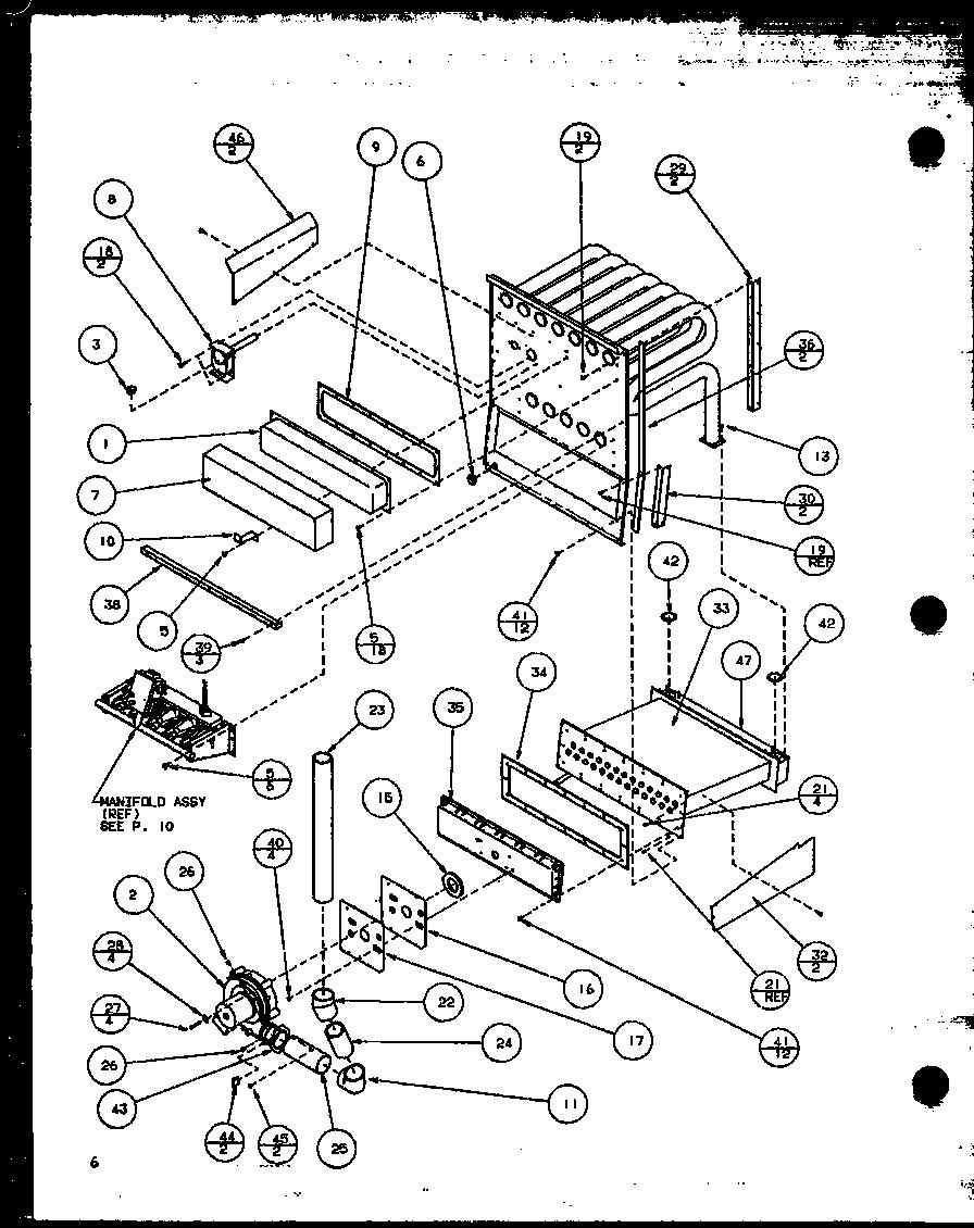 AMANA Gux Gas Furnace (gux045b30a/p1119801f) (g Parts
