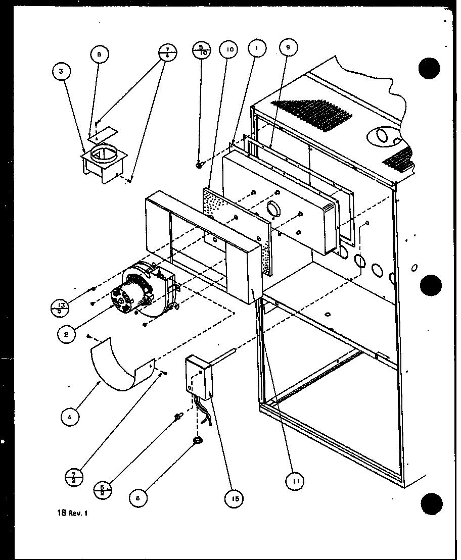 AMANA Gui Gas Furnace (gui045b25b/p1106301f) (g Parts