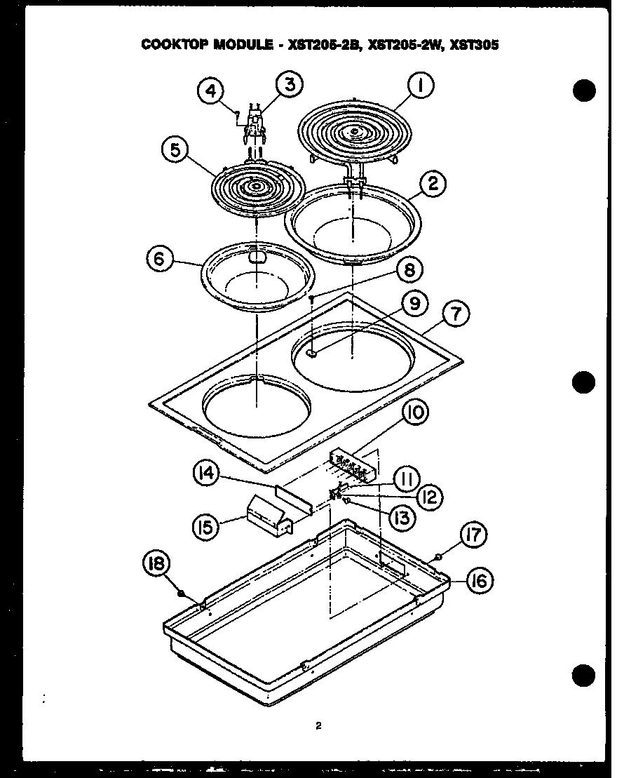 Jennair Cooking Control Panel Top Assembl Parts Model