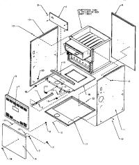 AMANA GCIA GAS FURNACE Parts | Model GCIA070A30P1177402F ...