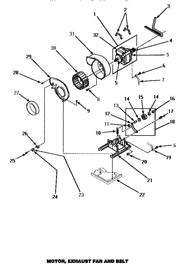 Admiral Dryer Belt Diagram, Admiral, Free Engine Image For