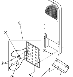 speed queen aem477w2 paem477w2 heater box assembly originally on electric dryer diagram [ 896 x 1112 Pixel ]