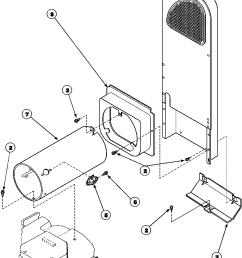 speed queen aem477w2 paem477w2 heater box assembly originally on gas dryer diagram [ 896 x 1143 Pixel ]