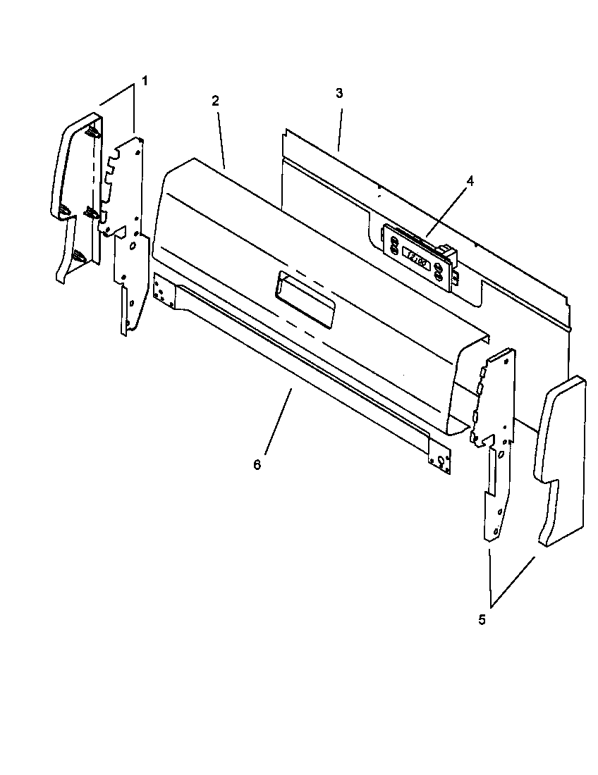 AMANA Gas Range Cabinet (agc585e/p1142922 Parts