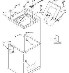 kenmore model 11025842400 residential washers genuine partskenmore 3 prong dryer wiring diagram free download 17 [ 3348 x 4623 Pixel ]