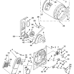 Kenmore 90 Series Dryer Parts Diagram 7 Round Trailer Plug Model 11064672400 Residential Genuine