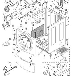 kenmore elite model 11085866400 residential dryer genuine partskenmore 400 3 prong 220 wiring diagram 17 [ 3348 x 4623 Pixel ]