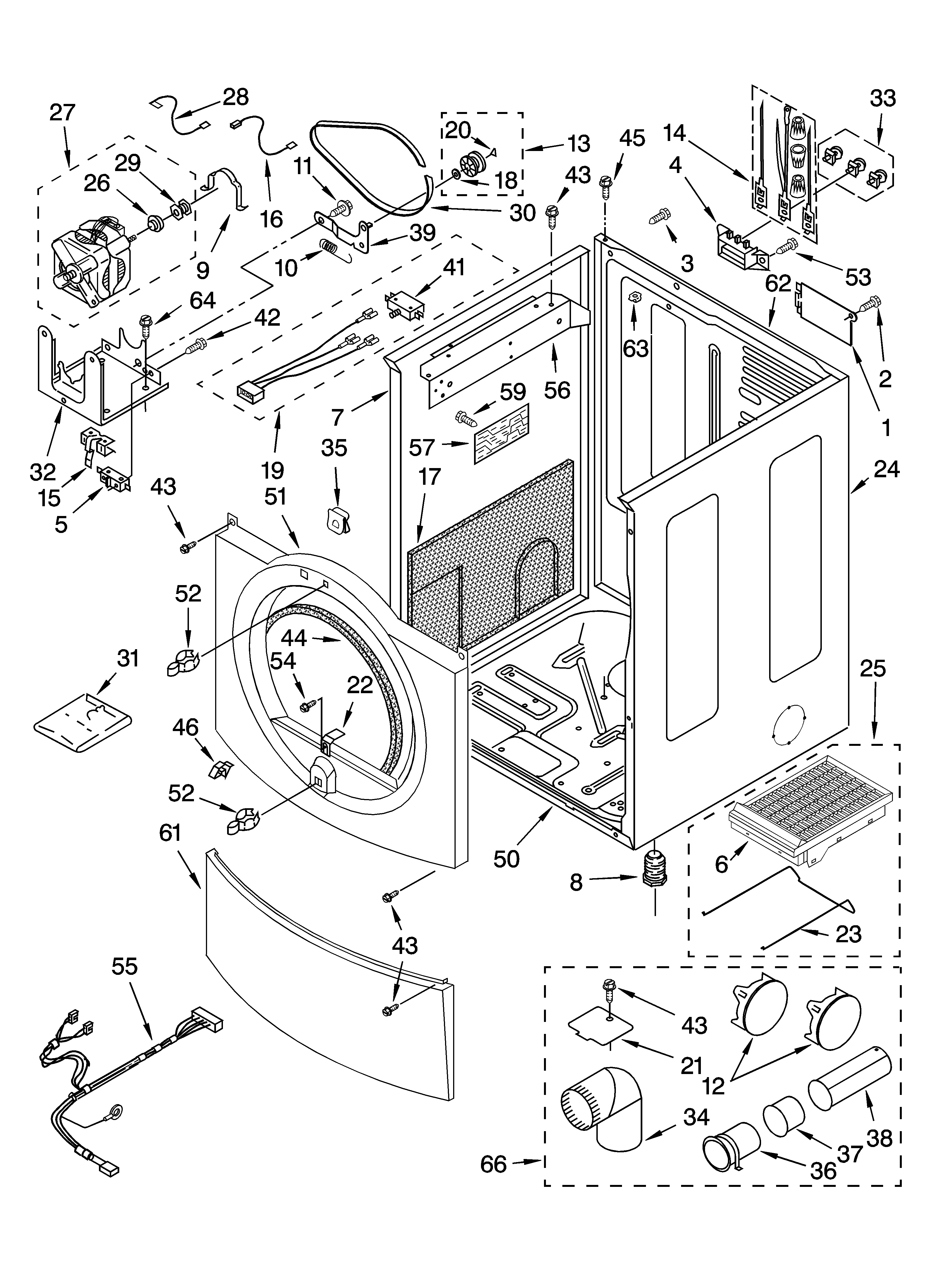 kenmore 90 series dryer parts diagram running lights circuit elite model 11085862400 residential genuine