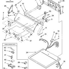 Sears Model 110 Parts Diagram 01 Chevy Tahoe Wiring Kenmore Elite Dryer 11076962500