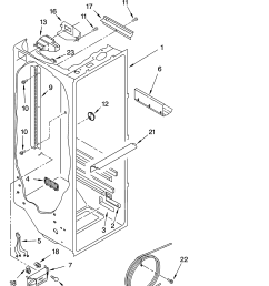 wire diagram for ge refrigerator model 22 25 [ 3348 x 4623 Pixel ]