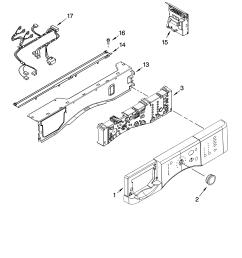 kenmore 11046462500 control panel parts diagram [ 3348 x 4623 Pixel ]