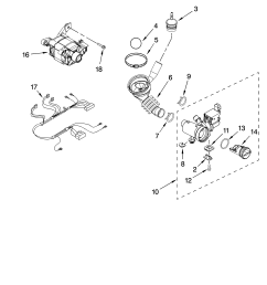 looking for kenmore model 11046462500 washer repair replacement parts wiring diagram diagram and parts list for kenmore washerparts model [ 3348 x 4623 Pixel ]