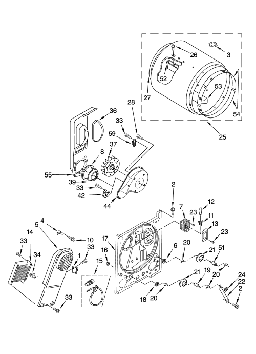 small resolution of kenmore model 11066732501 residential dryer genuine parts kenmore 80 series gas dryer wiring diagram sears kenmore dryer wiring diagram