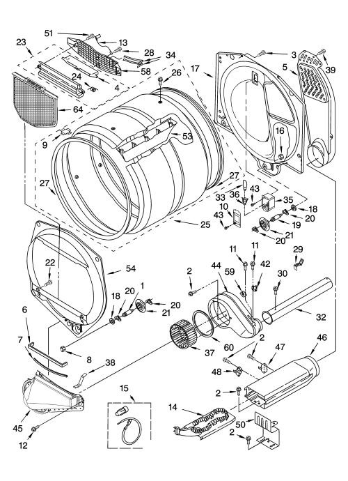small resolution of  kenmore elite model 11066962501 residential dryer genuine parts on kenmore dryer heating element diagram kenmore elite wiring