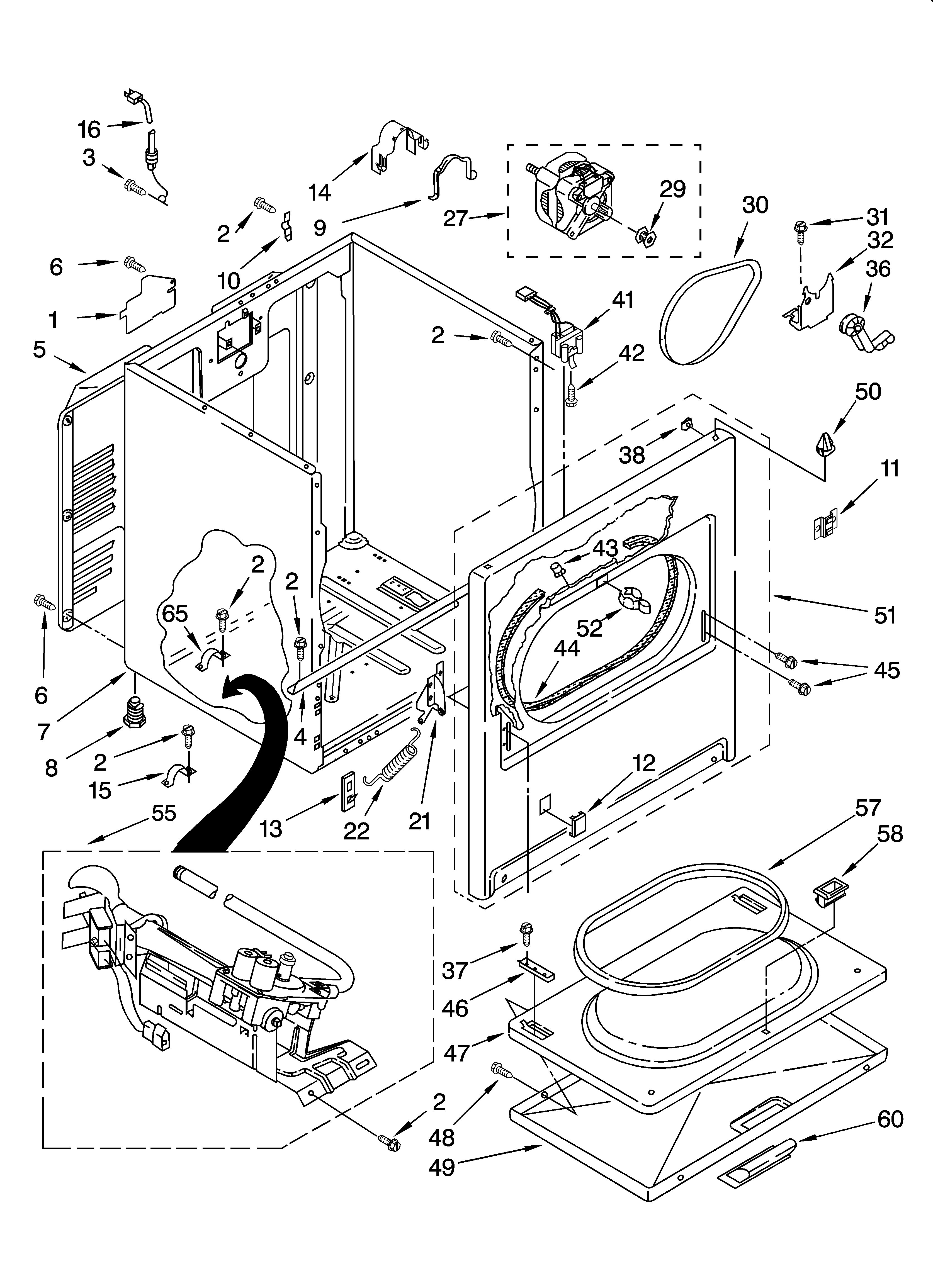 Download Kenmore 80 Series Dryer Repair Manual Pdf free