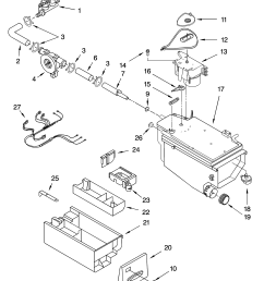 kenmore elite 11045087404 dispenser parts diagram [ 3348 x 4623 Pixel ]