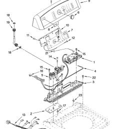 kenmore elite 11027092603 control panel parts diagram [ 3348 x 4623 Pixel ]