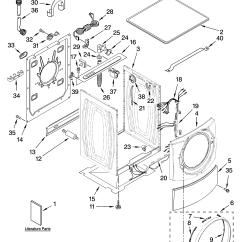 Sears Model 110 Parts Diagram Warn A2000 Wiring Kenmore Elite 11047087600 Residential Washers Genuine