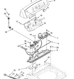 kenmore elite 11028032700 control panel parts diagram [ 3348 x 4623 Pixel ]