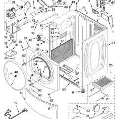 Kenmore 90 Series Dryer Parts Diagram 2002 Chevy Malibu Ls Stereo Wiring Elite Model 11087086601 Residential Genuine
