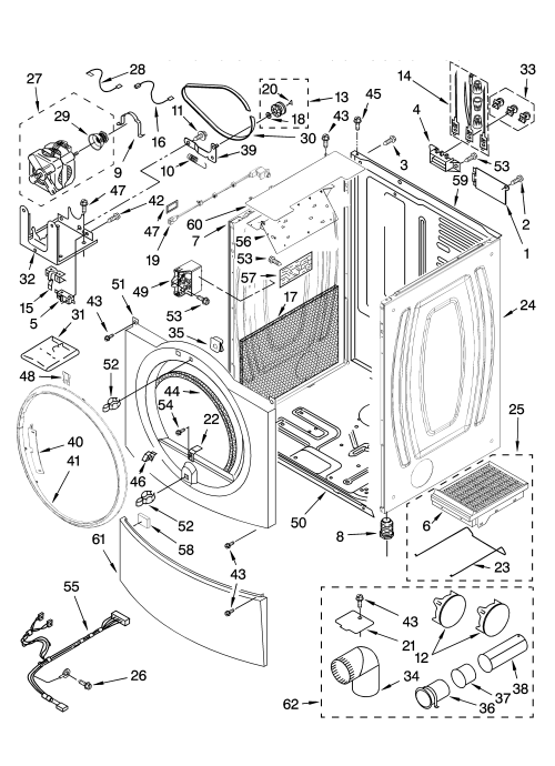 small resolution of wiring diagram for kenmore elite dryer front loader schematic parts model dryer kenmore 11096550110 sears kenmore dryer parts diagram