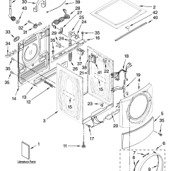 Kenmore Elite Parts Diagram Dual Immersion Switch Wiring Residential Washer Model 11047701800