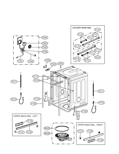 small resolution of lg ldf9810st tub assembly diagram