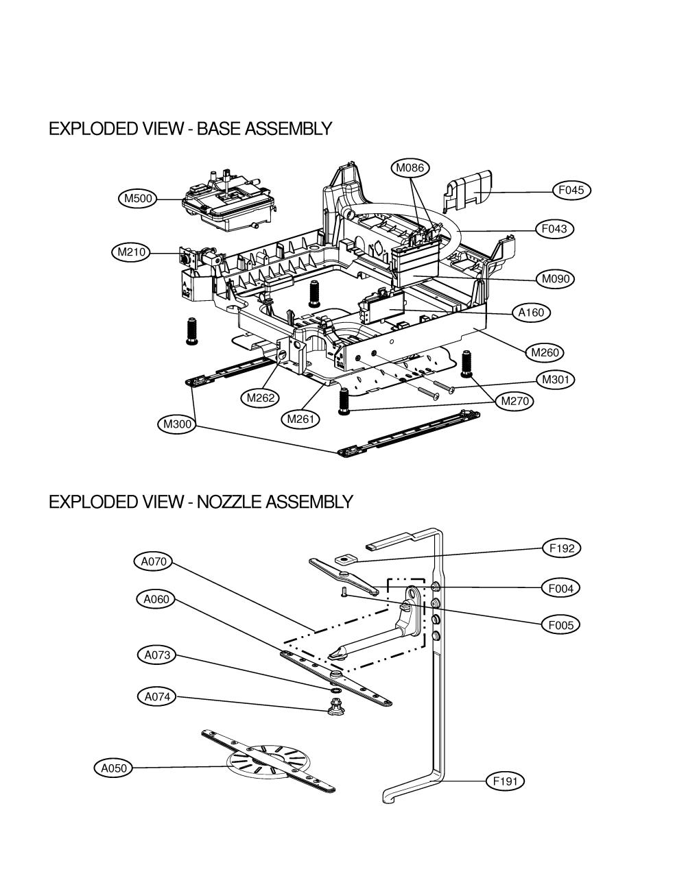 medium resolution of lg ldf9810st base nozzle diagram