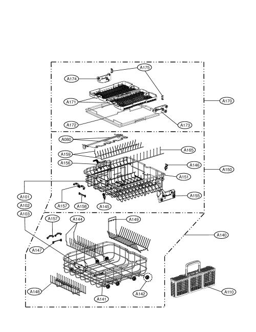 small resolution of lg ldf9810st racks diagram