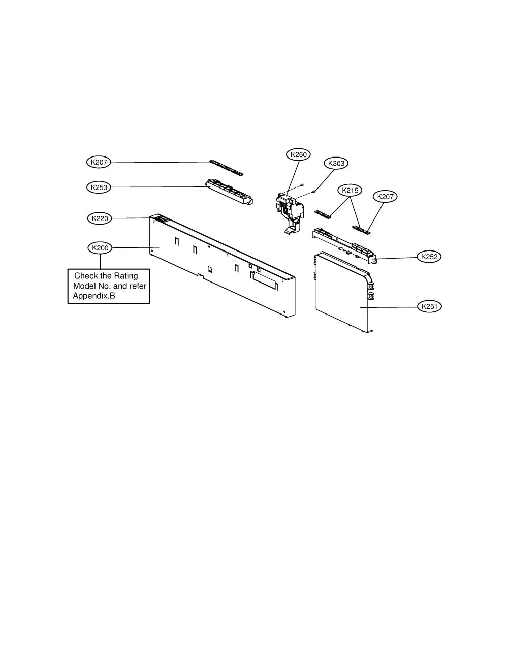 medium resolution of lg ldf9810st panel assembly diagram