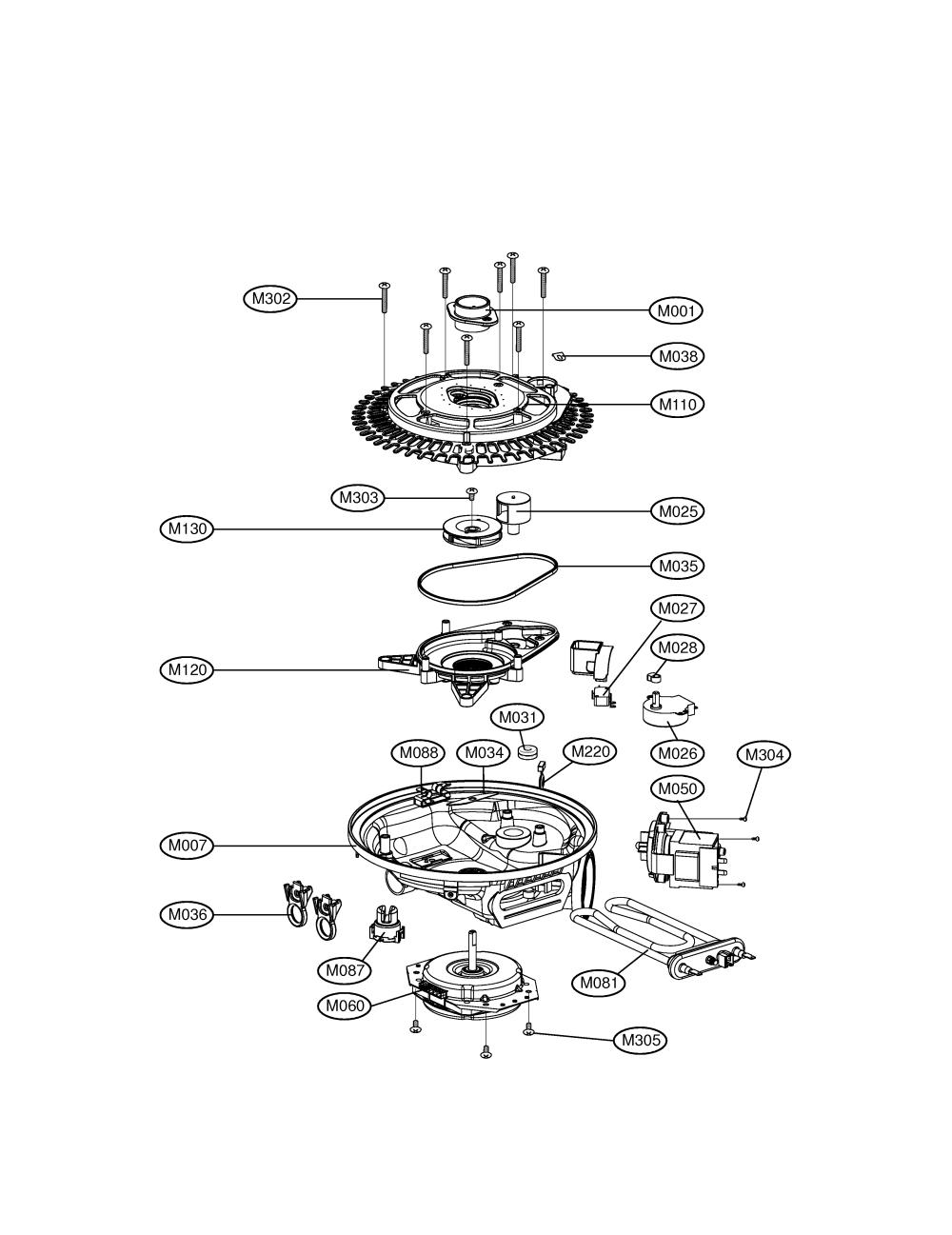 medium resolution of lg ldf9810st sump assembly diagram
