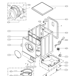 Lg Front Load Washer Parts Diagram Mallory Unilite Wiring Model Wm1333hw Sears Partsdirect